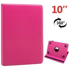 Funda COOL Ebook Tablet 10 pulgadas Polipiel Giratoria Rosa