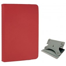 Funda COOL Ebook Tablet 10 Pulgadas Polipiel Giratoria Rojo