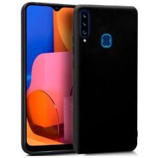 Funda COOL Silicona para Samsung A207 Galaxy A20s (Negro)