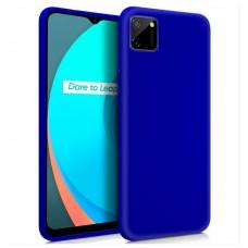 Funda COOL Silicona para Realme C11 (Azul)