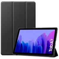 Funda COOL para Samsung Galaxy Tab A7 T500 / T505 Polipiel Liso Negro 10.4 pulg