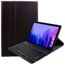 Funda COOL para Samsung Galaxy Tab A7 T500 / T505 Polipiel Liso Negro Teclado Bluetooth 10.4 Pulg