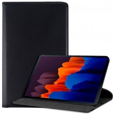Funda COOL para Samsung Galaxy Tab S7 Plus T970 Polipiel Liso Negro 12.4 pulg