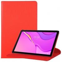 Funda COOL para Huawei Matepad T10s Polipiel Liso Rojo 10.1 pulg