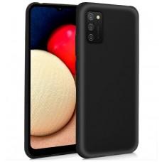 Funda COOL Silicona para Samsung A025 Galaxy A02s (Negro)