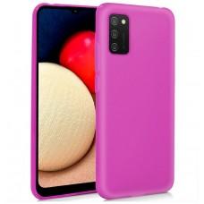 Funda COOL Silicona para Samsung A025 Galaxy A02s (Rosa)