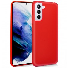 Funda COOL Silicona para Samsung G996 Galaxy S21 Plus (Rojo)