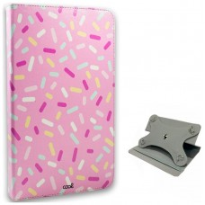 Funda COOL Ebook / Tablet 9.7 - 10 Pulg Polipiel Candy Giratoria (Panorámica)