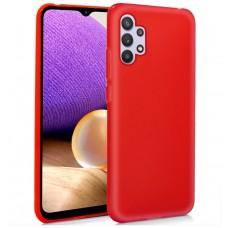 Funda COOL Silicona para Samsung A326 Galaxy A32 5G (Rojo)