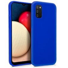 Funda COOL Silicona para Samsung A025 Galaxy A02s (Azul)