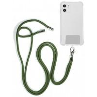 Cordón Colgante COOL Universal con Tarjeta para Smartphone Verde