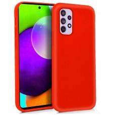 Funda COOL Silicona para Samsung A525 Galaxy A52 / A52 5G (Rojo)