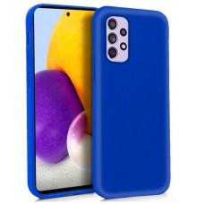 Funda COOL Silicona para Samsung A725 Galaxy A72 (Azul)