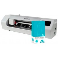 Máquina Plotter Devia Corte Láminas Hasta 15 pulg + Accesorios + 50 Láminas Universales