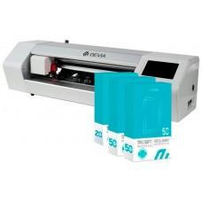 Máquina Plotter Devia Corte Láminas Hasta 15 pulg. + Accesorios + 120 Láminas Universales