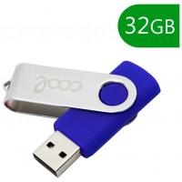 Pen Drive USB x32 GB 2.0 COOL Piel Leather Negro