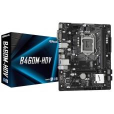 Asrock B460M-HDV placa base Intel B460 LGA 1200 micro ATX (Espera 4 dias)