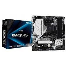 Asrock B550M Pro4 AMD B550 Zócalo AM4 micro ATX (Espera 4 dias)