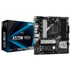 Asrock A520M Pro4 Zócalo AM4 micro ATX (Espera 4 dias)