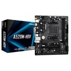 Asrock A520M-HDV Zócalo AM4 micro ATX (Espera 4 dias)