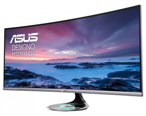 "ASUS MX38VC 95,2 cm (37.5"") 3840 x 1600 Pixeles UltraWide Quad HD+ LED Plata (Espera 4 dias)"