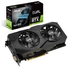 ASUS Dual -RTX2060-A6G-EVO NVIDIA GeForce RTX 2060 6 GB GDDR6 (Espera 4 dias)