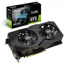 ASUS Dual -RTX2060-6G-EVO NVIDIA GeForce RTX 2060 6 GB GDDR6 (Espera 4 dias)