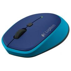 Logitech M335 Wireless Óptico 1000DPI Ambidextro Azul