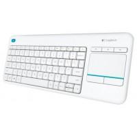 Logitech Wireless Touch Keyboard K400 Plus - teclado -