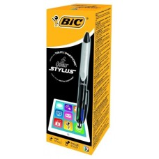 BIC-STYLUS 4COLORES TABLET