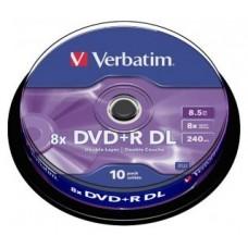 DVD+R Doble Capa Verbatim 10unds