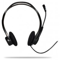 Logitech PC Headset 960 USB - Casco con auriculares ( (Espera 3 dias)
