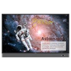 """Benq RM5502K 139,7 cm (55"""") LED 4K Ultra HD Pantalla táctil Panel plano interactivo Negro Procesador incorporado Android 8.0 (Espera 4 dias)"""
