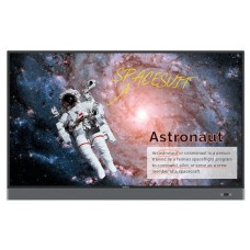 "Benq RM6502K Panel plano interactivo 165,1 cm (65"") LED 4K Ultra HD Negro Pantalla táctil (Espera 4 dias)"