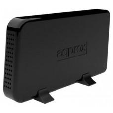 approx appHDD07B Caja Ext.3.5 USB 2.0 SATA Negra