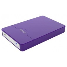 approx appHDD09P Caja Ext.2.5 USB 2.0 SATA Púrpur