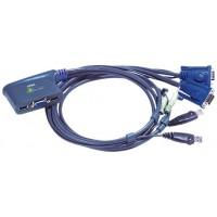 Aten CS62US interruptor KVM Negro (Espera 4 dias)