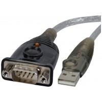 Aten UC232A cambiador de género para cable USB RS-232 Plata (Espera 4 dias)