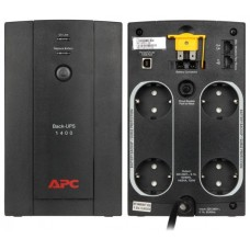 APC BACK-UPS 1400VA, 230V, AVR, SCHUKO SOCKETS (Espera 3 dias)