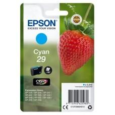 CARTUCHO EPSON T29 CYAN XP-235, XP-332, XP-335, X (Espera 4 dias)