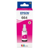 CARTUCHO EPSON T6643 MAGENTA INK BOTTLE 70ML ECOTA