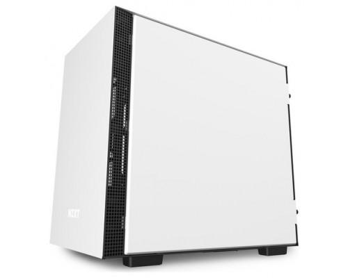 CAJA  MINI-ITX NZXT H210I BLANCA/NEGRA CA-H210I-W1