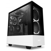 NZXT Caja SemiTorre H510 Elite Led RGB Blanco