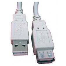 CABLE ALARGADOR USB 2.0 3 MTS CAB-SB-1230 (Espera 5 dias)