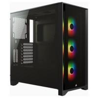 CAJA CORSAIR ICUE 4000X RGB TEMPERED GLASS NEGRA CC-9011204-WW (Espera 4 dias)