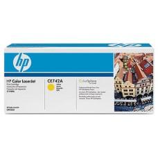 HP 307A TONER HP307A AMARILLO (CE742A) (Espera 4 dias)