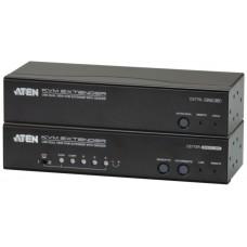 Aten CE775 extensor audio/video Transmisor y receptor de señales AV Negro (Espera 4 dias)