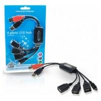 HUB 3 PUERTOS USB + 1 MINI USB CONCEPTRONIC   1100013