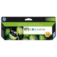 HP Cartucho de tinta original 971XL de alta capacidad cian