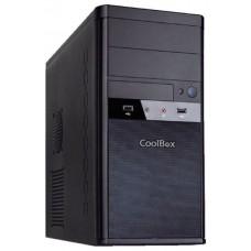 CAJA COOLBOX MATX M55 2xUSB3.0CON FUENTE BASIC-GR
